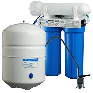 Watts Premier Four Stage (4SV RO-TFM-4SV) (500025) Reverse Osmosis Filter System - MPN - Watts Premier 4SV RO-TFM-4SV 500025 Reverse Osmosis